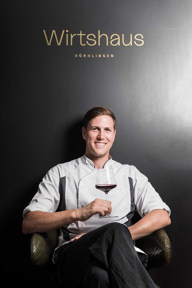 Dominic Mayer, Küchenchef und Inhaber des Hörnlingen in Rankweil